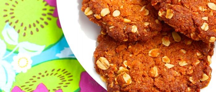 Fertig sind die neuseeländischen Kekse!