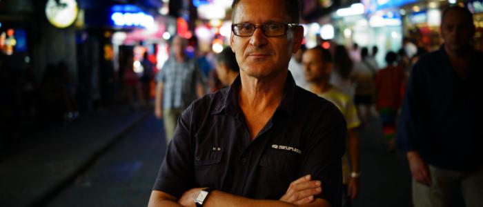 Der kulinarische Ethnologe Marin Trenk in Thailand