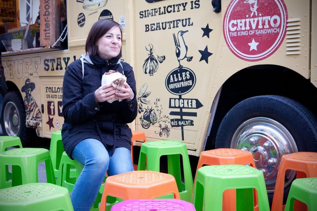 Chivito Truck beim Streetfood Festival in München