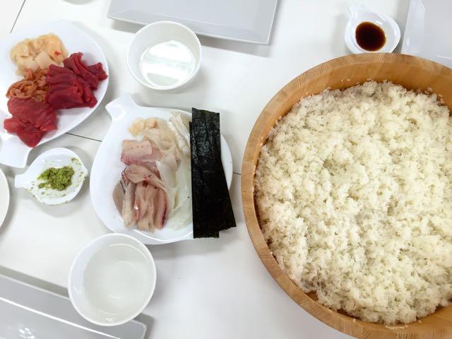 Sechs Gebote für Sushi