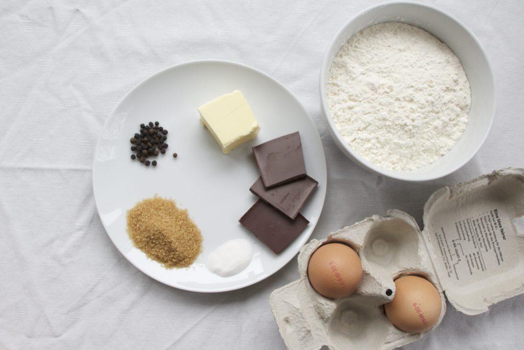 Zutaten für Pepper Cookies aus Südafrika